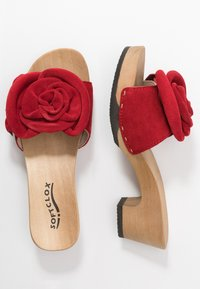 Softclox - KENDRA - Clogs - rot - 3