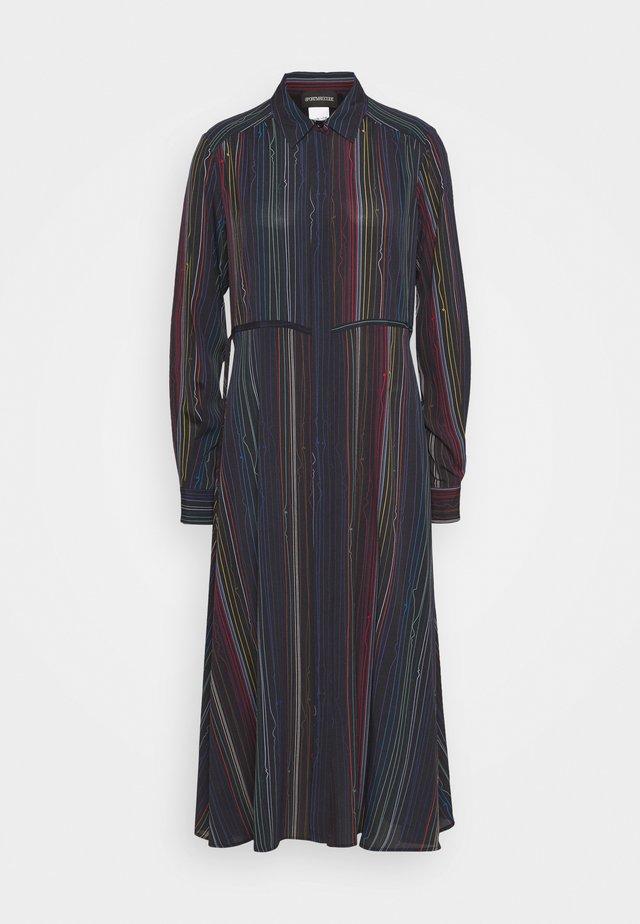 GONDOLA - Sukienka koszulowa - schwarz