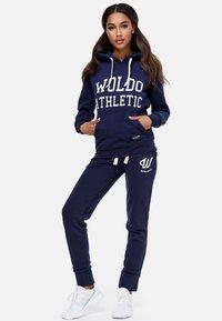 Woldo Athletic - Hoodie - blue - 1
