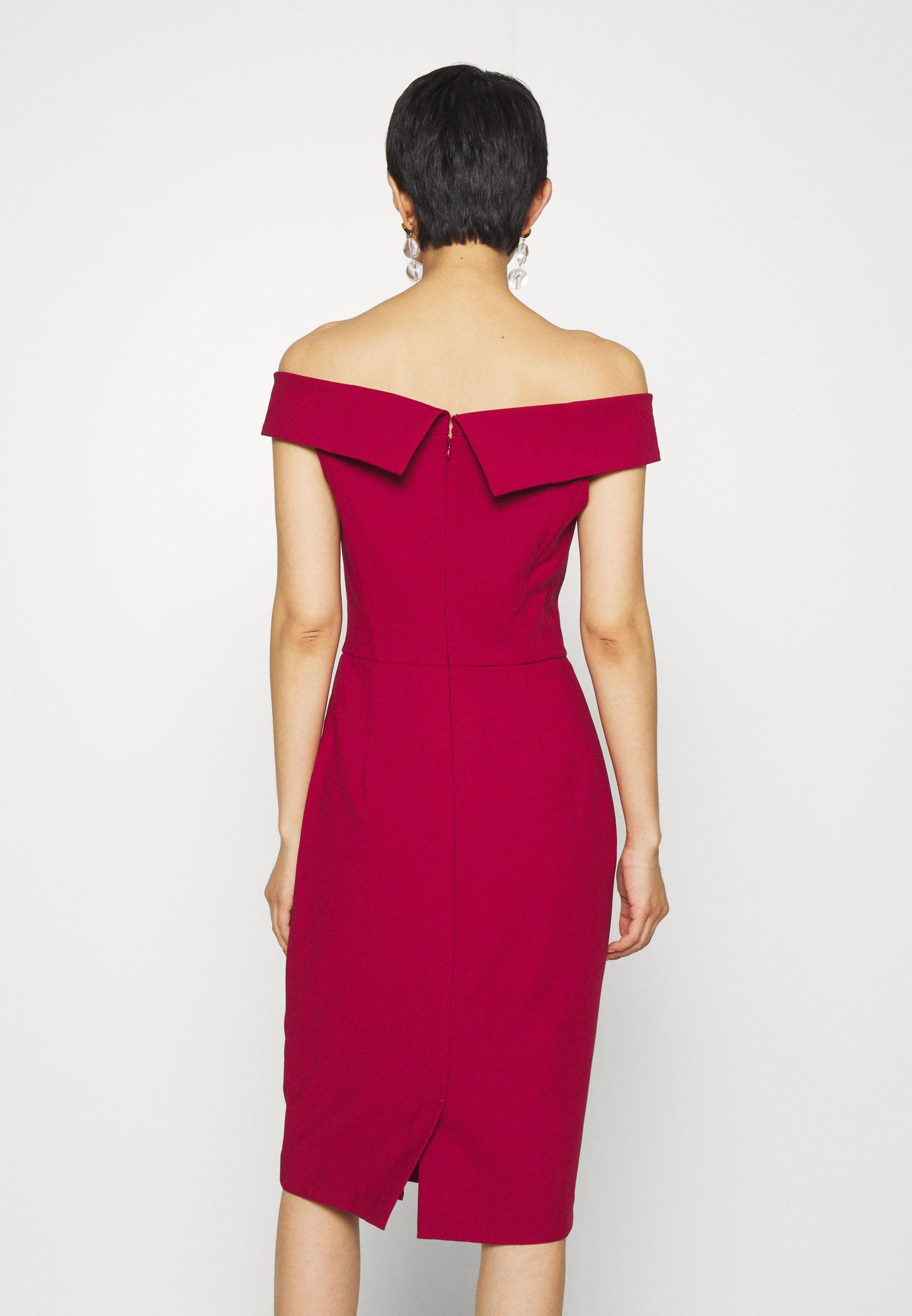 IVY & OAK CARMEN DRESS Etuikleid cassis sorbet/pink