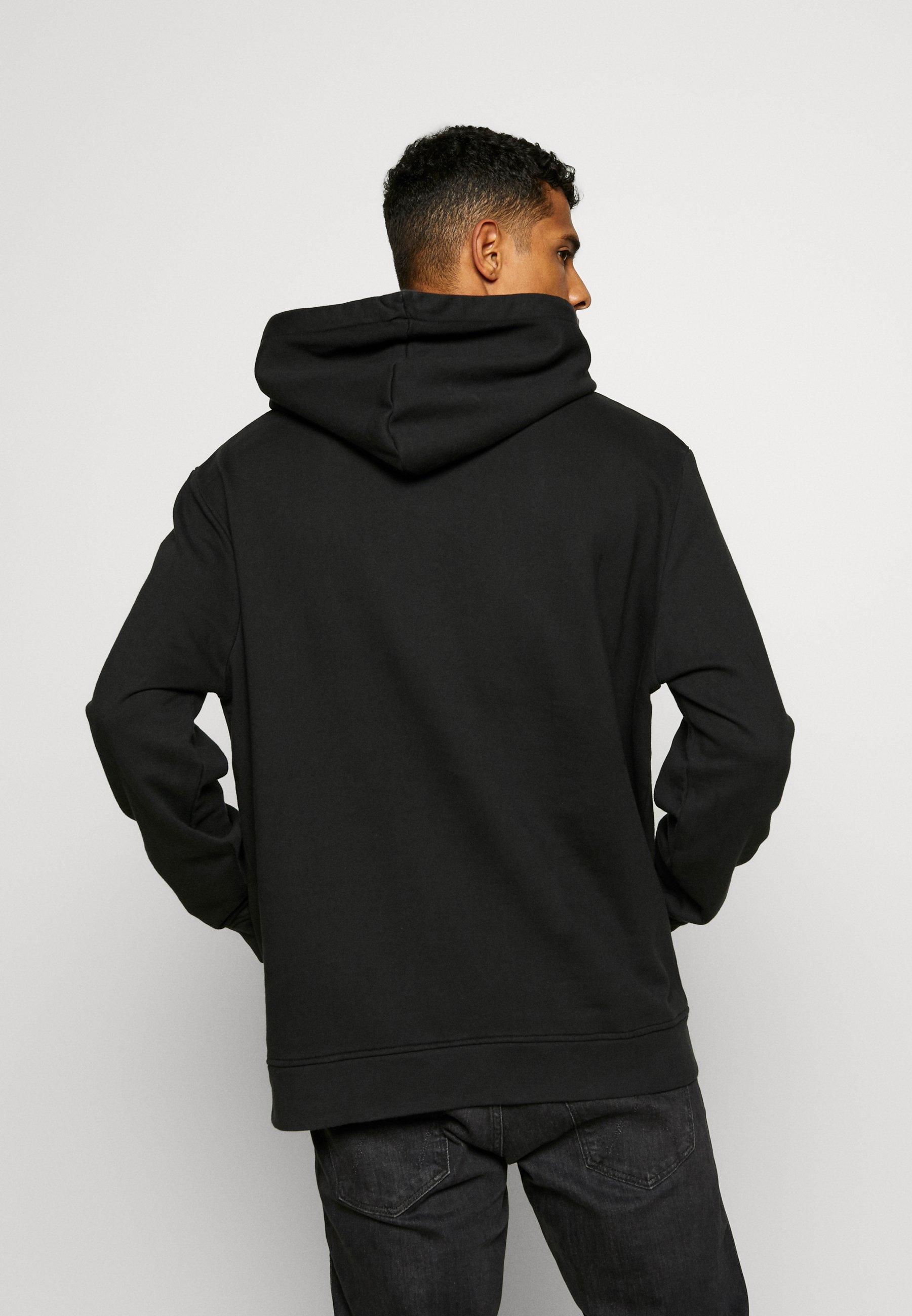 AllSaints MONO HOODY - Sweat à capuche - jet black