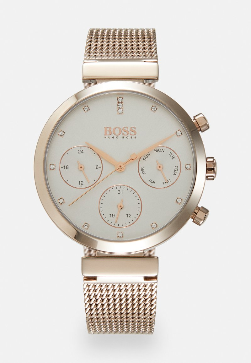 BOSS - FLAWLESS - Watch - roségold-coloured