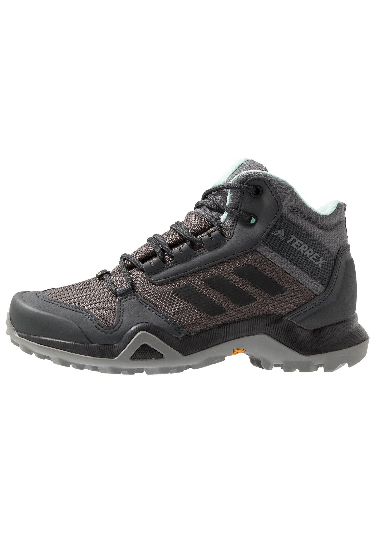 adidas Performance TERREX AX3 GORE-TEX - Fjellsko - core black/dough solid grey/purple tint