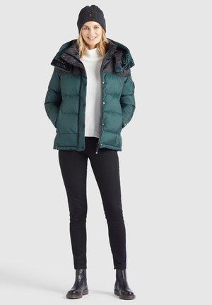 ADANE - Winter jacket - dunkelgrün schwarz