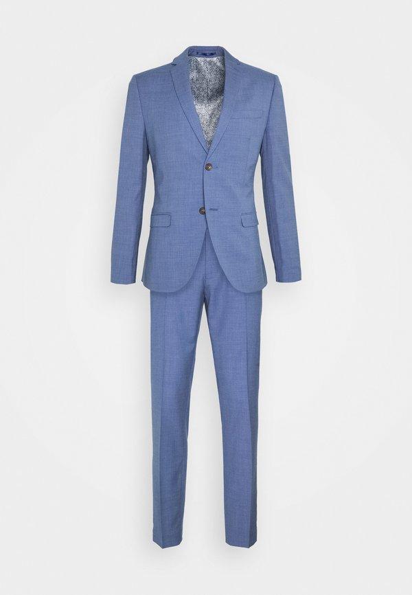Isaac Dewhirst PLAIN SUIT - Garnitur - blue/niebieski Odzież Męska JGQI