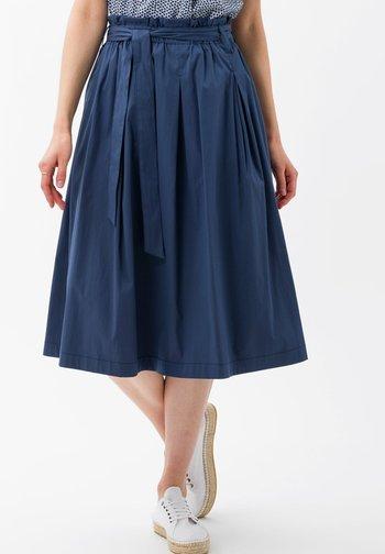 STYLE KLARA - A-line skirt - indigo