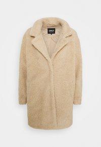 ONLAURELIA SHERPA COAT  - Short coat - cuban sand