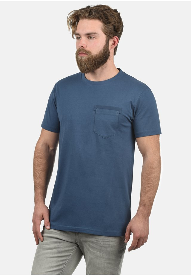 REGULAR FIT - T-shirt basic - night blue