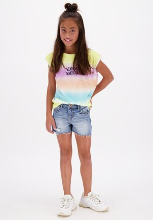 SENNA  - T-shirt print - pale yellow