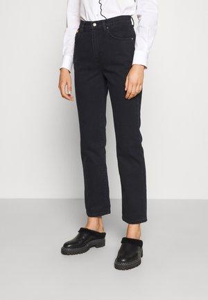 LUCIEN  - Straight leg jeans - black