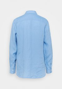 Marc O'Polo - BLOUSE LONG SLEEVED EASY SHAPED - Button-down blouse - washed cornflower - 1