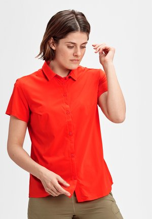 TROVAT LIGHT - Button-down blouse - poinciana
