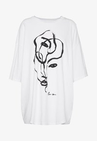 CISSI TEE  - Print T-shirt - white