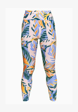 7/8 PSYCH  - Tights - light thistle/white