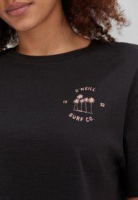 O'Neill - CALIFORNIA SURF - Print T-shirt - black out - 2