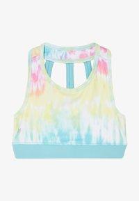 South Beach - GIRLS SPORTS BRA - Sports bra - rainbow/light blue - 2