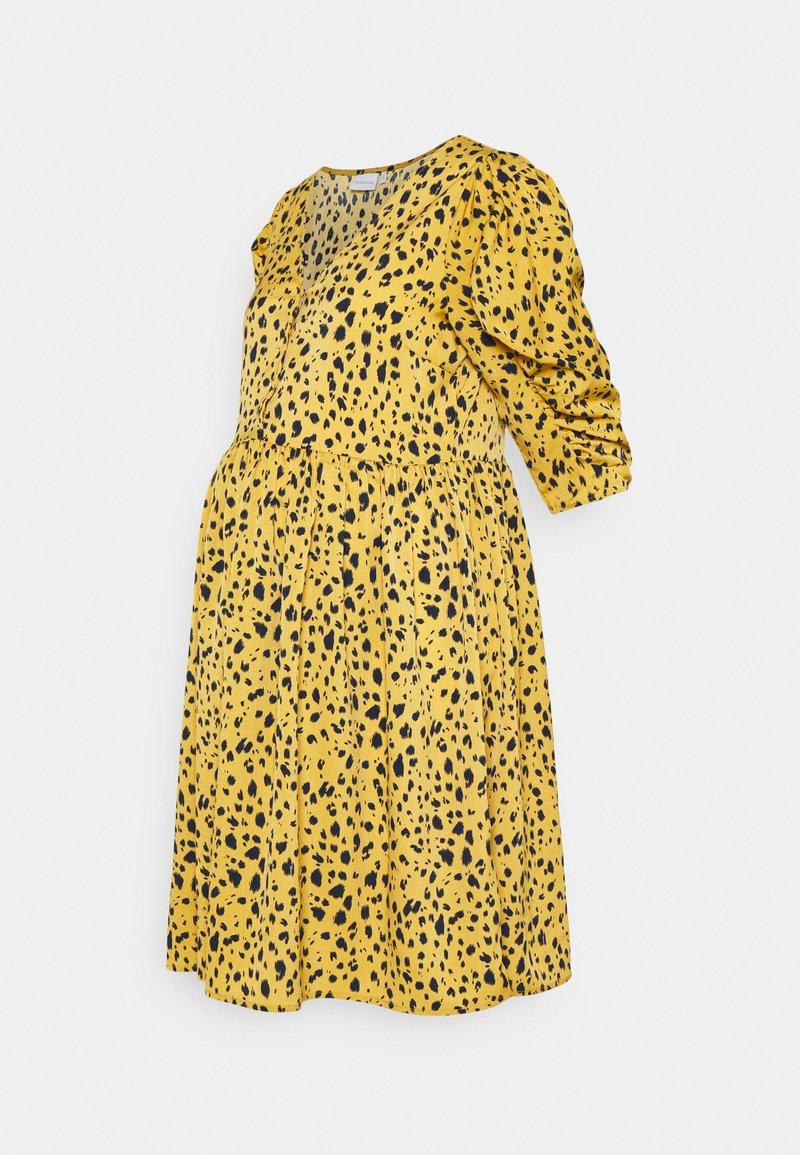 MAMALICIOUS - MLELLIE LIA DRESS  - Jersey dress - honey