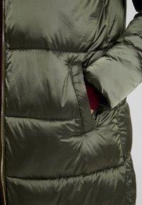 Cream - GAIAGRO LONG - Winter coat - forest night - 5