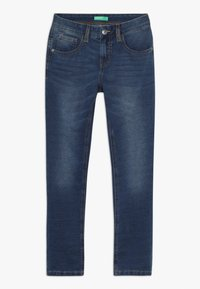 Benetton - TROUSERS - Relaxed fit jeans - blue denim - 0