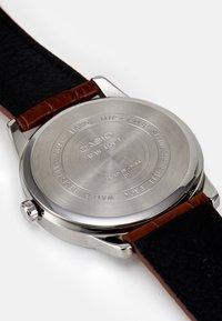 Casio - Watch - brown/silver-coloured - 4