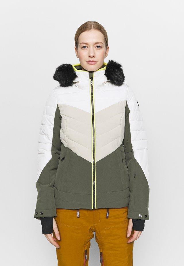 ATKA QUILTED SKI - Ski jacket - oliv