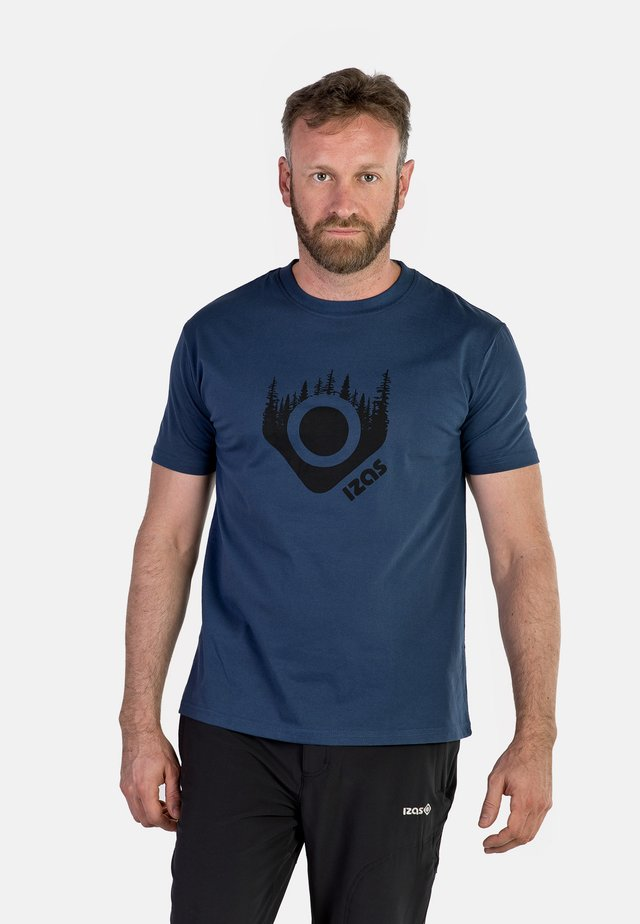 AVERY - Print T-shirt - blue