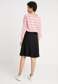 Mads Nørgaard - STELLY - A-line skirt - black - 2