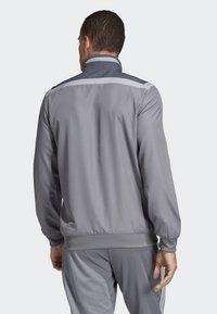 adidas Performance - TIRO 19 PRE-MATCH TRACKSUIT - Träningsjacka - grey/ white - 1