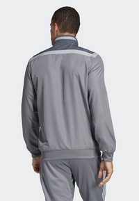adidas Performance - TIRO 19 PRE-MATCH TRACKSUIT - Training jacket - grey/ white - 1