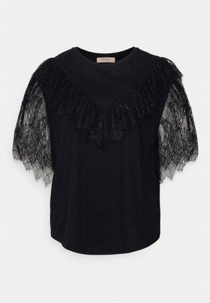BLUSA CON BALZE - Print T-shirt - nero