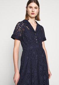 J.CREW - MAHALIA DRESS - Košilové šaty - navy - 3