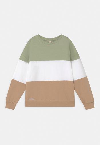 GIRLS COLOR BLOCK  - Sweatshirt - moos reactive