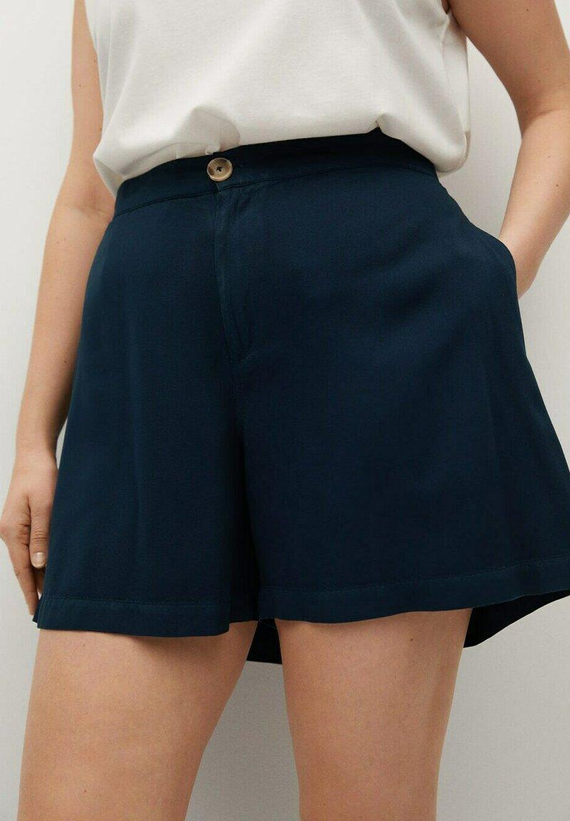 Violeta by Mango - RINGO - Shorts - dunkles marineblau
