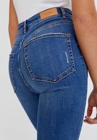PULL&BEAR - Jeans Skinny Fit - dark blue denim - 4