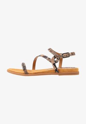 CLARIS - Sandals - sun tan
