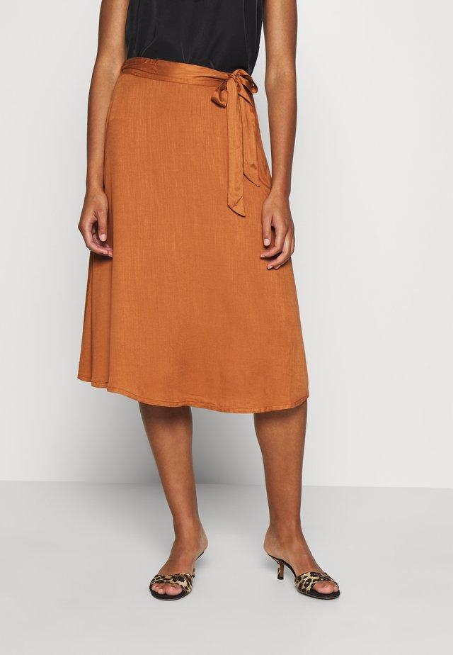 BAILE SKIRT - A-line skirt - adobe