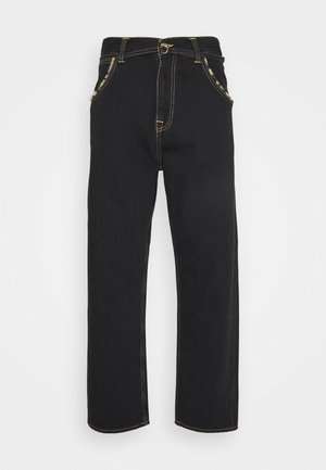 BELTED TYRELL PANT - Relaxed fit jeans - kingston black denim