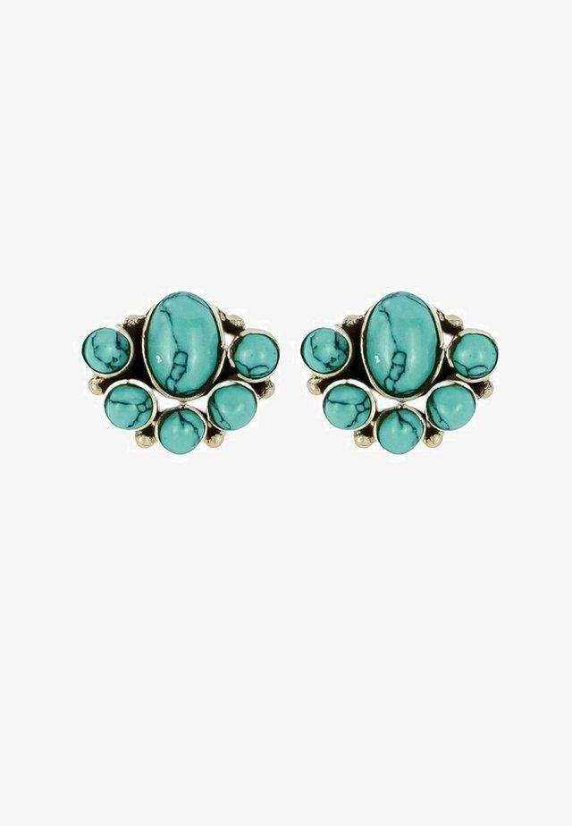 BLOSSOM  - Korvakorut - turquoise