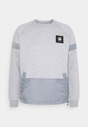 PRISONER MIX R SW L\S - Sweater - ashor grey htr