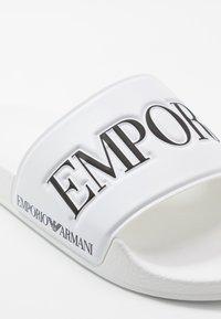 Emporio Armani - Slip-ins - white/black - 6