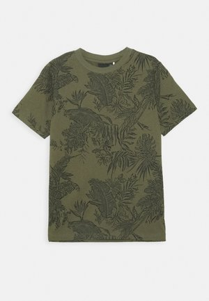 NLMLUZIOT - Print T-shirt - ivy green