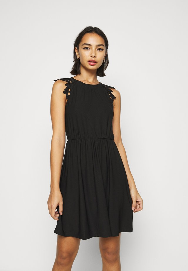 ONLSILJA LIFE DRESS - Day dress - black