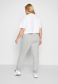 Nike Sportswear - PANT - Tracksuit bottoms - grey heather/white - 5