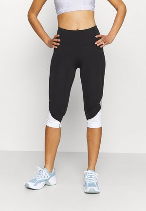 ALL ROUNDER CAPRI - Legginsy - black