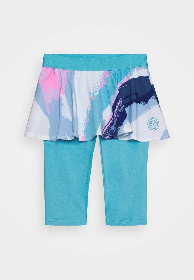 TAMEA TECH SCAPRI - Sports skirt - white/aqua