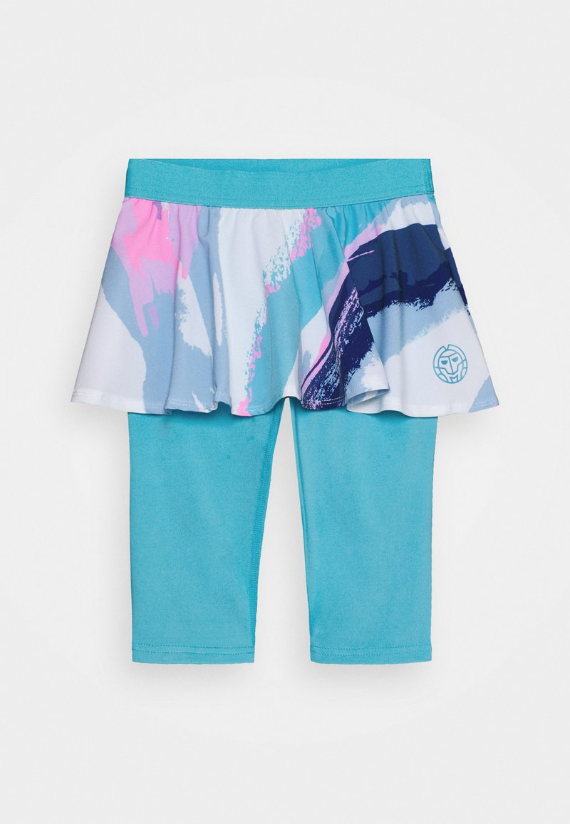 BIDI BADU - TAMEA TECH SCAPRI - Sportovní sukně - white/aqua
