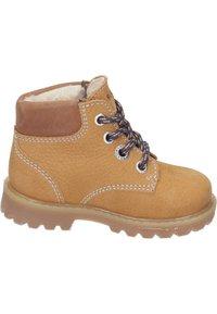 Richter - Lace-up ankle boots - curry/cognac - 5