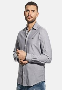 Emilio Adani - MIT FEINER STRUKTUR - Shirt - blau - 0