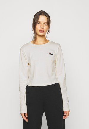 EAVEN CROPPED LONG SLEEVE - Topper langermet - eggnog