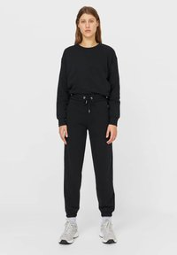Stradivarius - SET - Tracksuit - black - 0